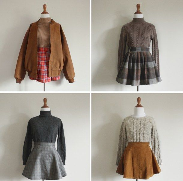 Buy Vintage Cute outfits for winter tumblr picture trends