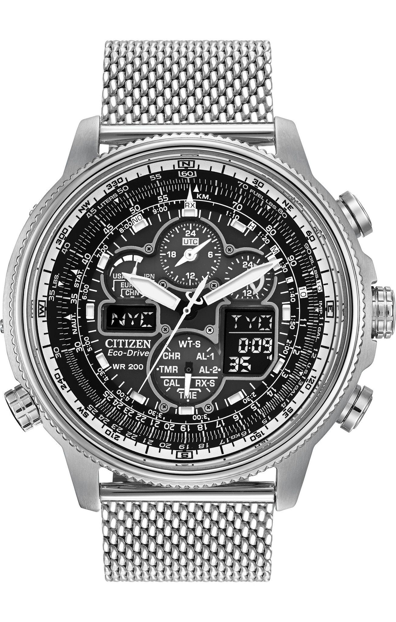 a6d33b654f2 Citizen Eco-Drive Men s Navihawk Atomic Watch