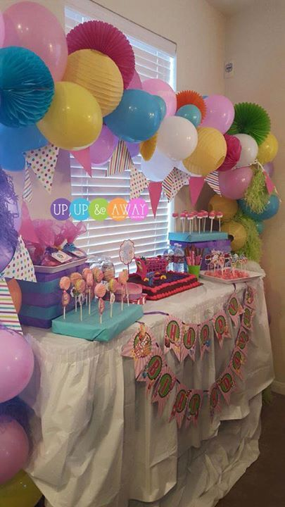 Cute idea for shorty's party