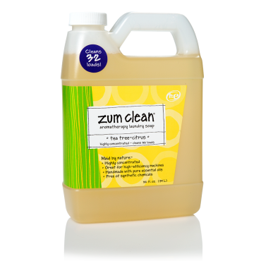 Tea Tree Citrus 32 Oz Zum Clean Laundry Soap With Images