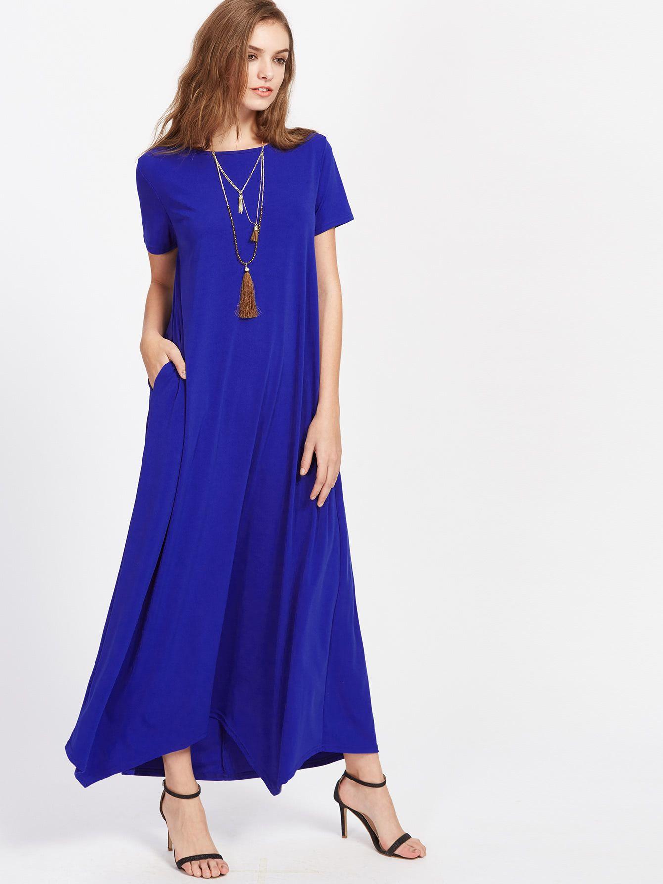 Hanky Hem Tent Dress With Hidden Pocket   Pinterest   Vestidos ...