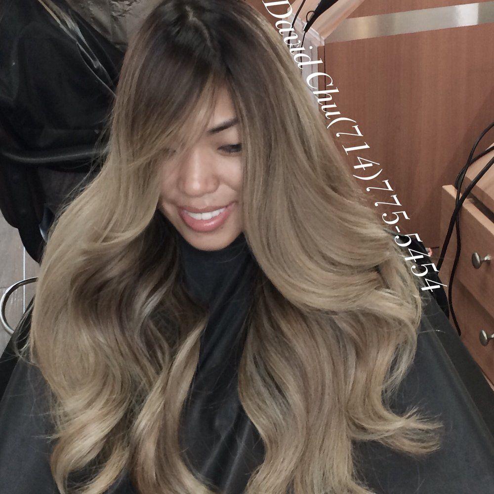 Dark Hair With Ash Blonde Highlights Google Search Blonde Asian Hair Ash Blonde Hair Balayage Hair