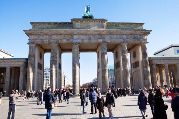 6. Unter den linden, Berlin. The sprawling boulevard in