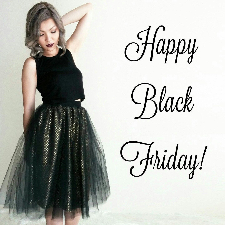 Black and gold tessa tutu skirt sparkle skirt high waist tulle
