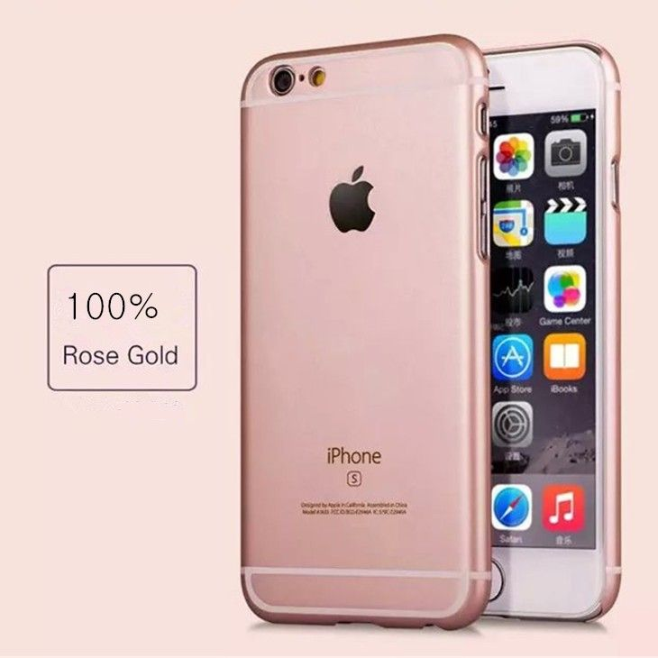 New Arrival Rose Gold Color Case For Apple IPhone 5 5s 6 6s Plus