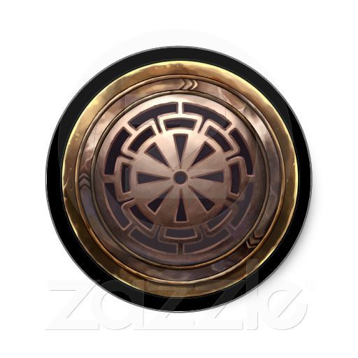 Japanese Emblem (Kamon) Sticker