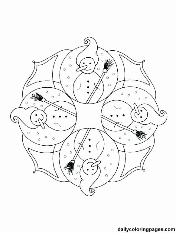 Printable Christmas Candles Coloring Pages Mandala Ausmalen Ausmalbilder Malvorlagen Tiere