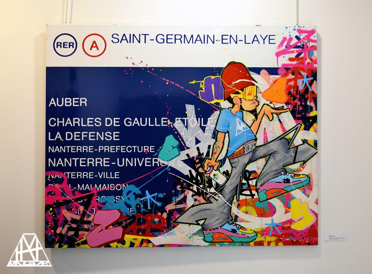 "Zenoy for ""RectoVerso"" Exhibition @ Géraldine Zberro gallery #Paris"