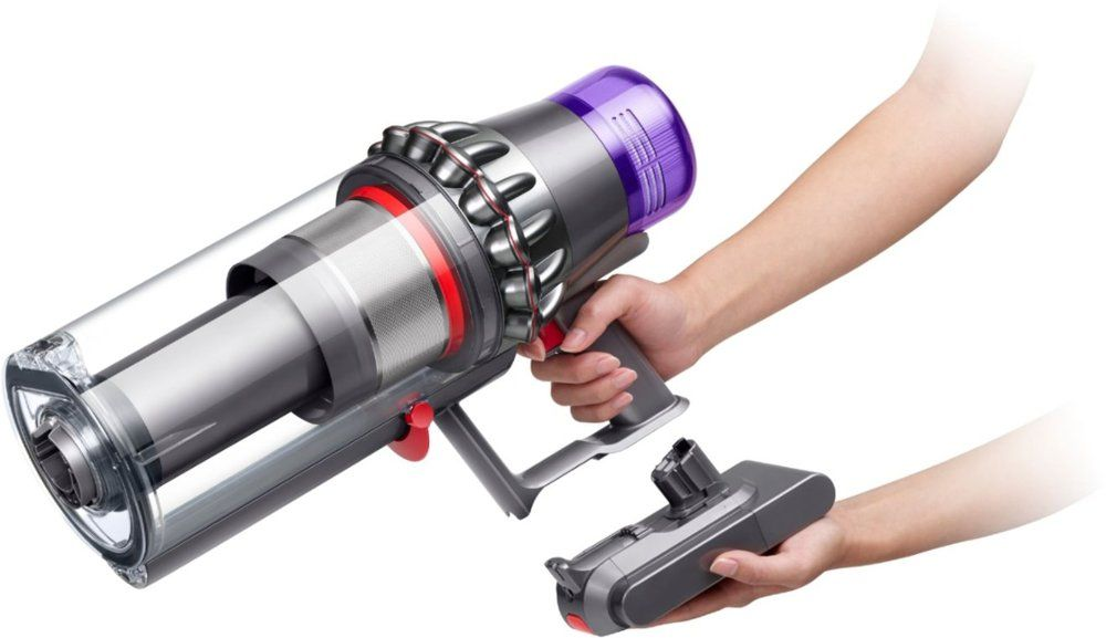 Dyson V11 Outsize Cordless Vacuum Red Nickel 298706 01 Best Buy Cordless Vacuum Vacuum Dyson