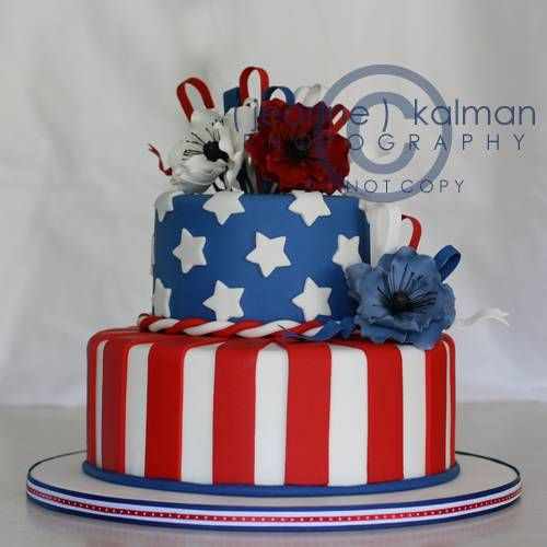 Cake Decor And More 1220 : Memorial Day Cake Ideas patriotic Pinterest Cake ...