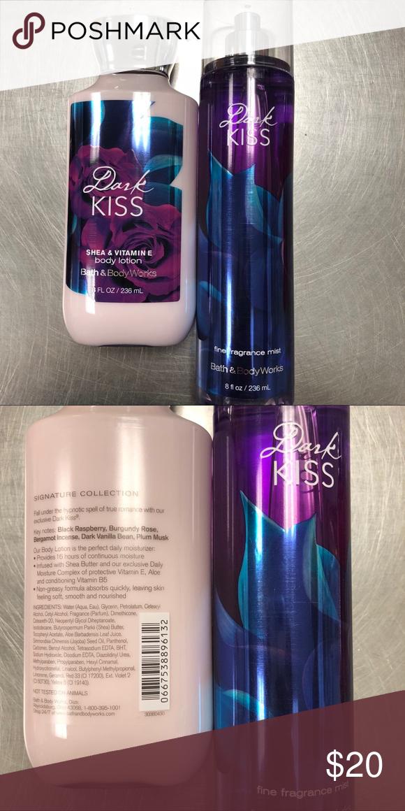Bath & Body Works Dark Kiss Body Lotion