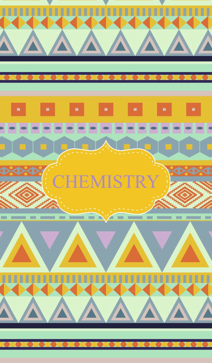 chemistry binder cover