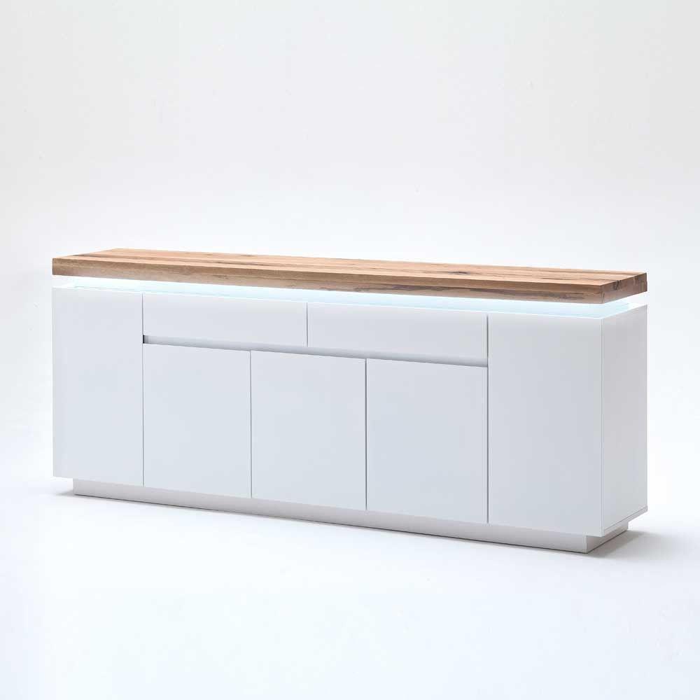 Wohnzimmer Sideboard Zelda Mit Led Beleuchtung Wohnen De Dining Room Sideboard Sideboard Outdoor Storage Box