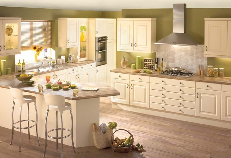 Contrasting kitchen wall colors: 15 cool color ideas | Kitchen ...