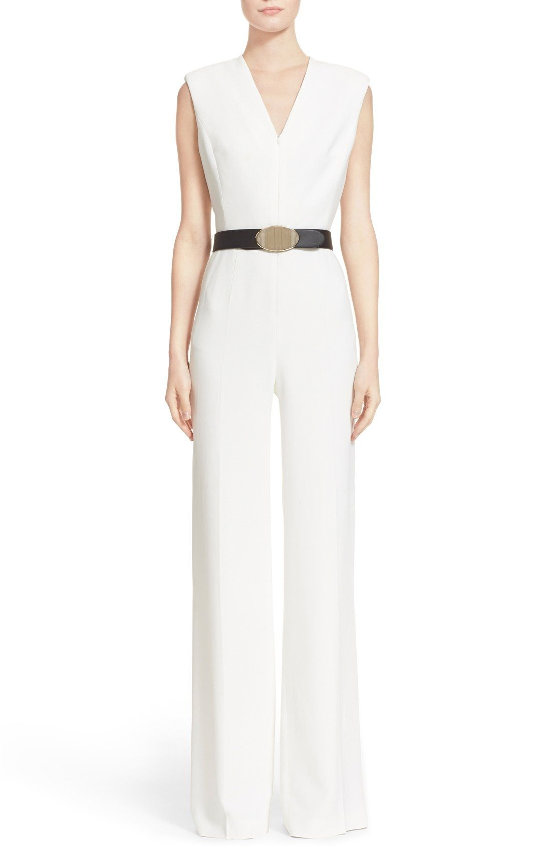 69f8beb4d5d2 ESCADA Sleeveless Wide Leg Jumpsuit available at  Nordstrom ...