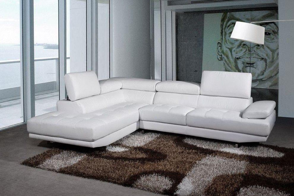 Ventura Left Hand White Leather Corner Sofa Quality Leather White Leather Sofas Best Leather Sofa Leather Corner Sofa