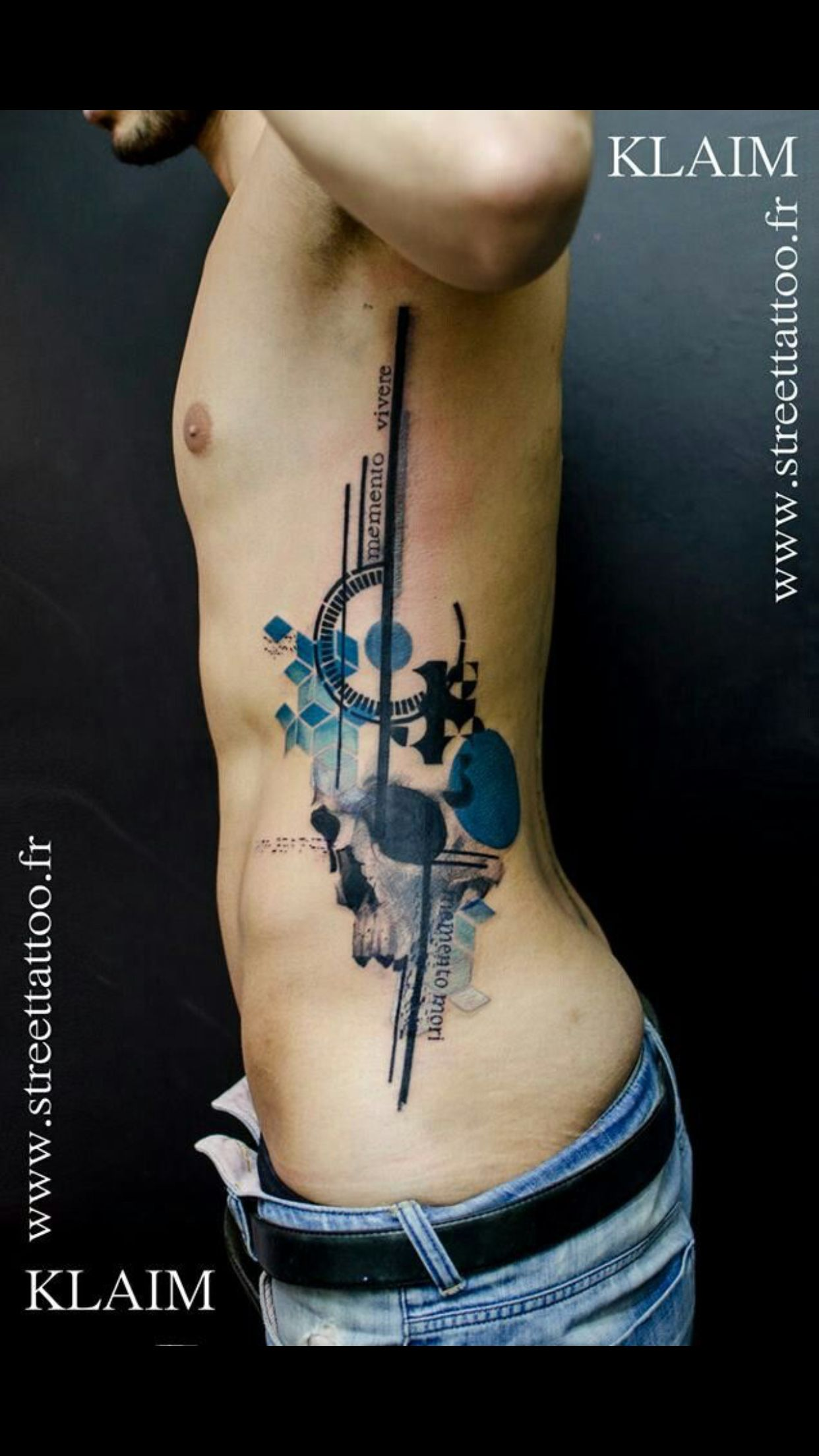 Nuances De Bleu Tattoos Tattoos Tech Tattoo Cool