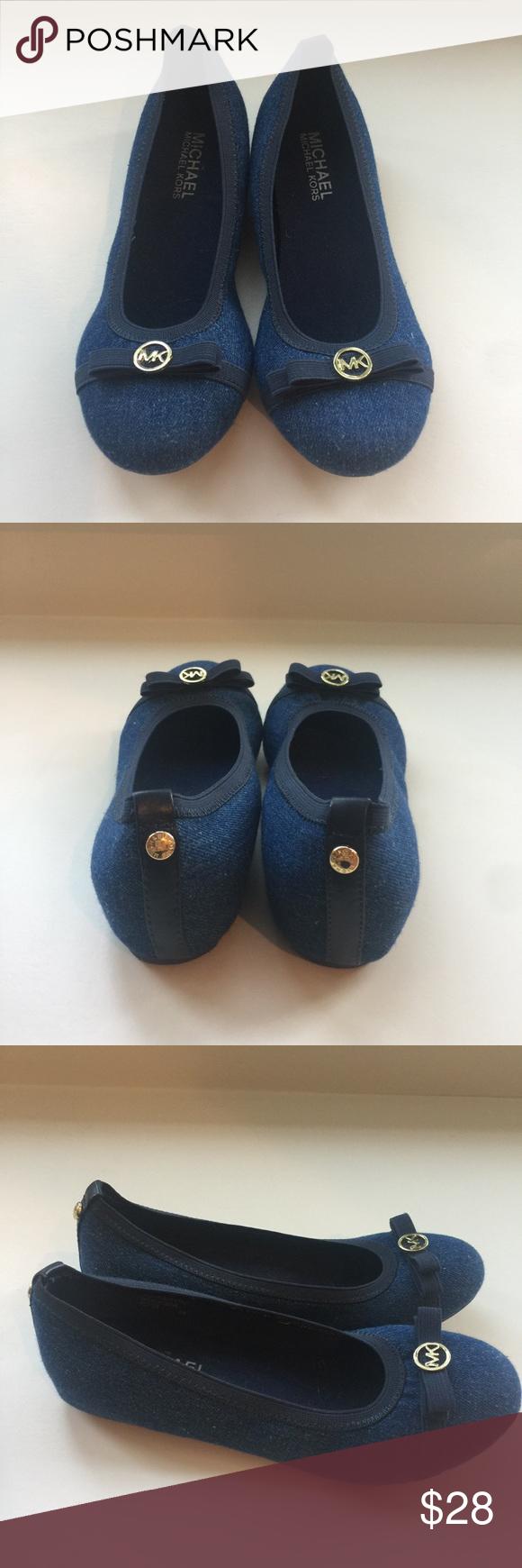 Michael Kors size 2 denim flats Michael Kors size 2 denim flats. In EUC. Michael Kors Shoes