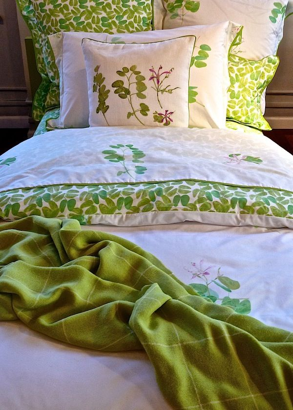 Yves Delorme Spring 2013 Postcards From Tropics Quintessence Affordable Bedding Sets Luxury Bedding Luxury Bedding Collections