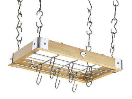 Hahn Metro Deckenregal Holz natur Amazonde Küche \ Haushalt - moderne kuchen holz naturmaterial