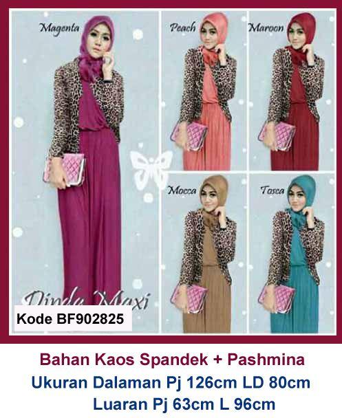 Baju Gamis Modern Terbaru - Detail produk model Baju gamis remaja blazer 825   Bahan   f257c10b51