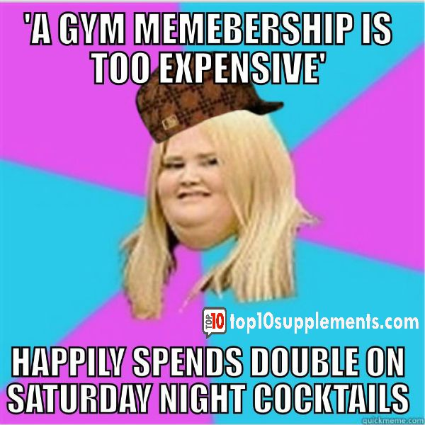 ive unfortunately heard this too many times fitness