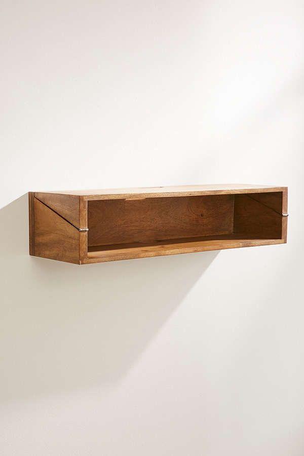 Woodlyn Folding Desk Shelf Folding Desk Desk Shelves Fold Down Desk