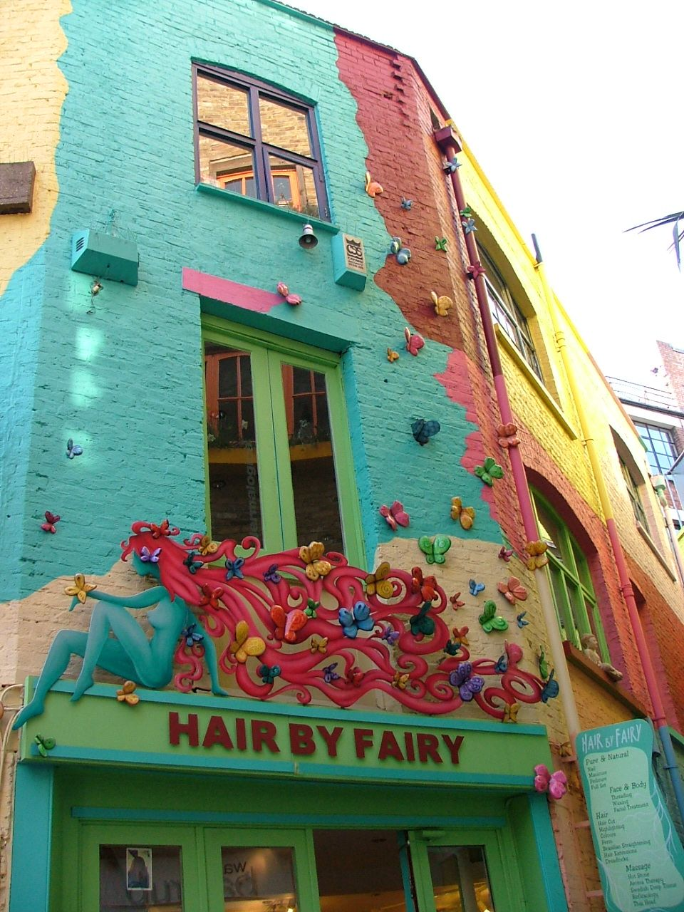 Hair By Fairy...Neal\'s Yard London | Festivals/Street Art/Color ...
