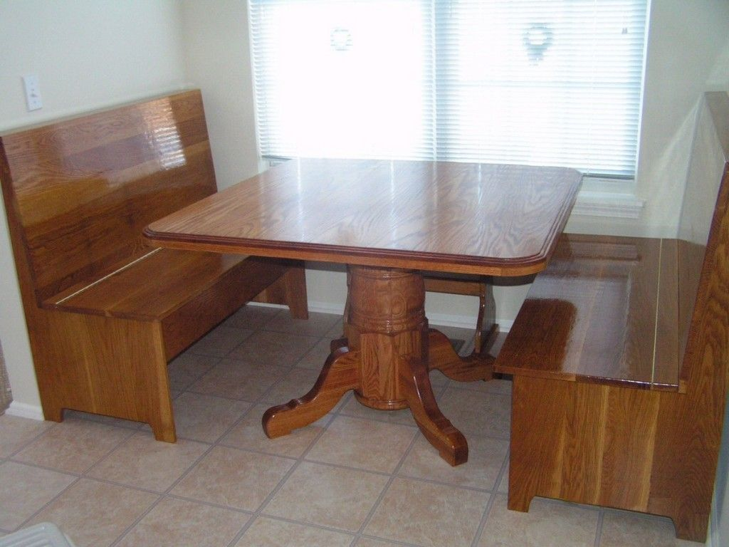 kitchen laminated wooden breakfast nook table set together with rectangle nook pedestal table on kitchen nook id=11777