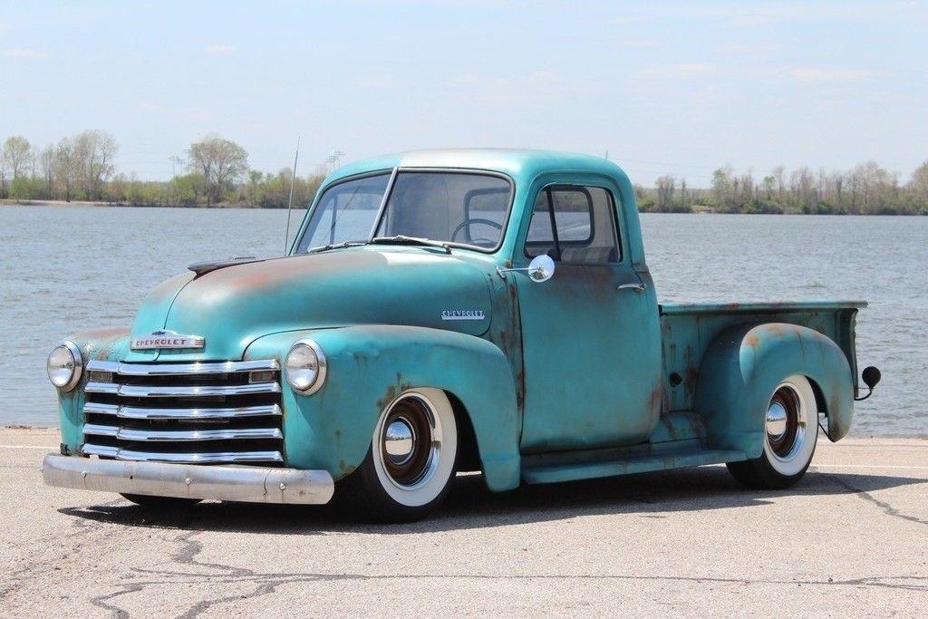 Chevrolet 3100 Pickup 1952 Chevy 3100 Rat Rod Restomod Ls V8 Auto Pdb Ps Ac Pro Touring Patina 36 900 00 36900 Chevy Trucks Gmc Trucks Classic Trucks