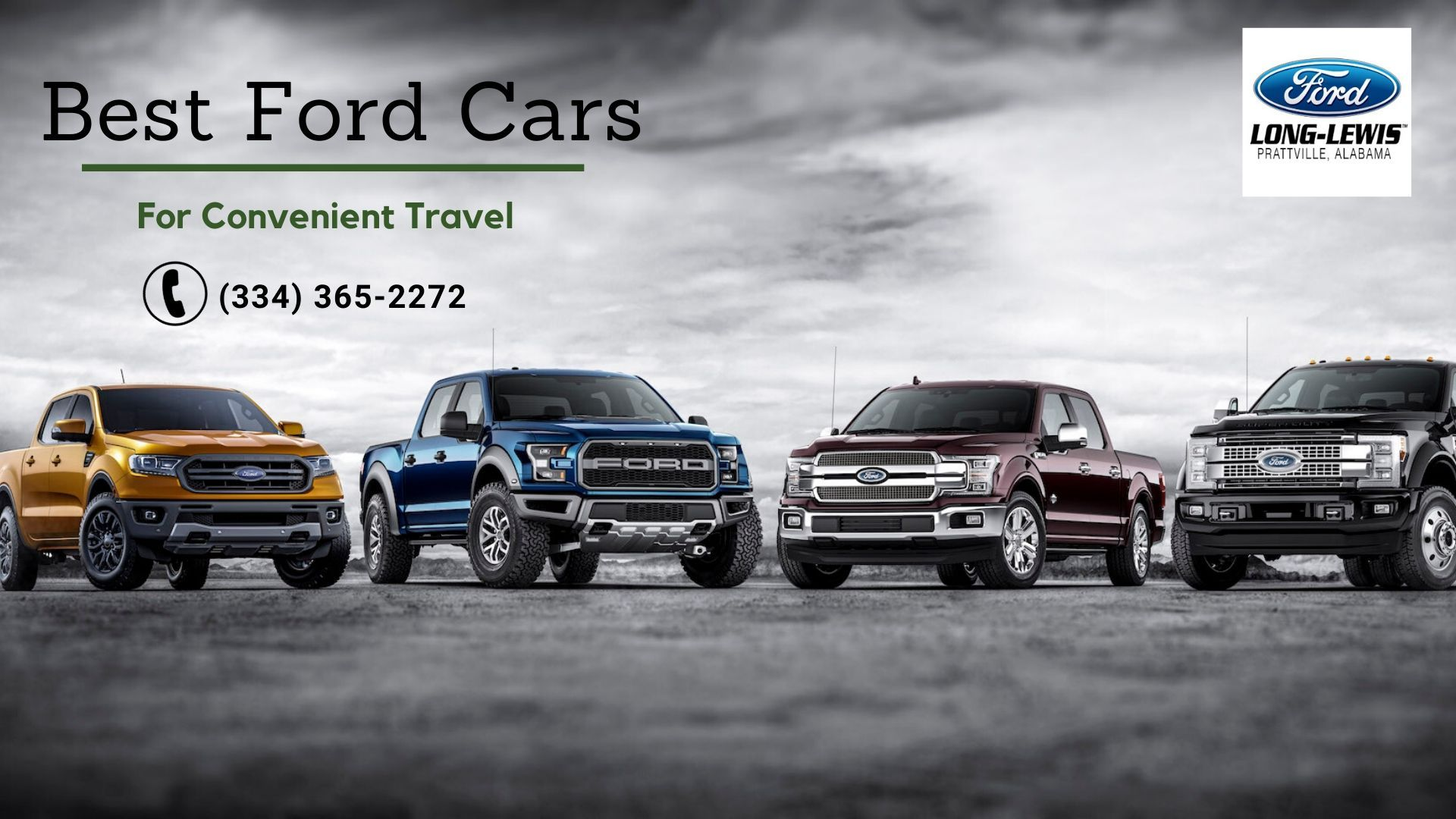 Need best ford car in Montgomery Alabama? Our LongLewis