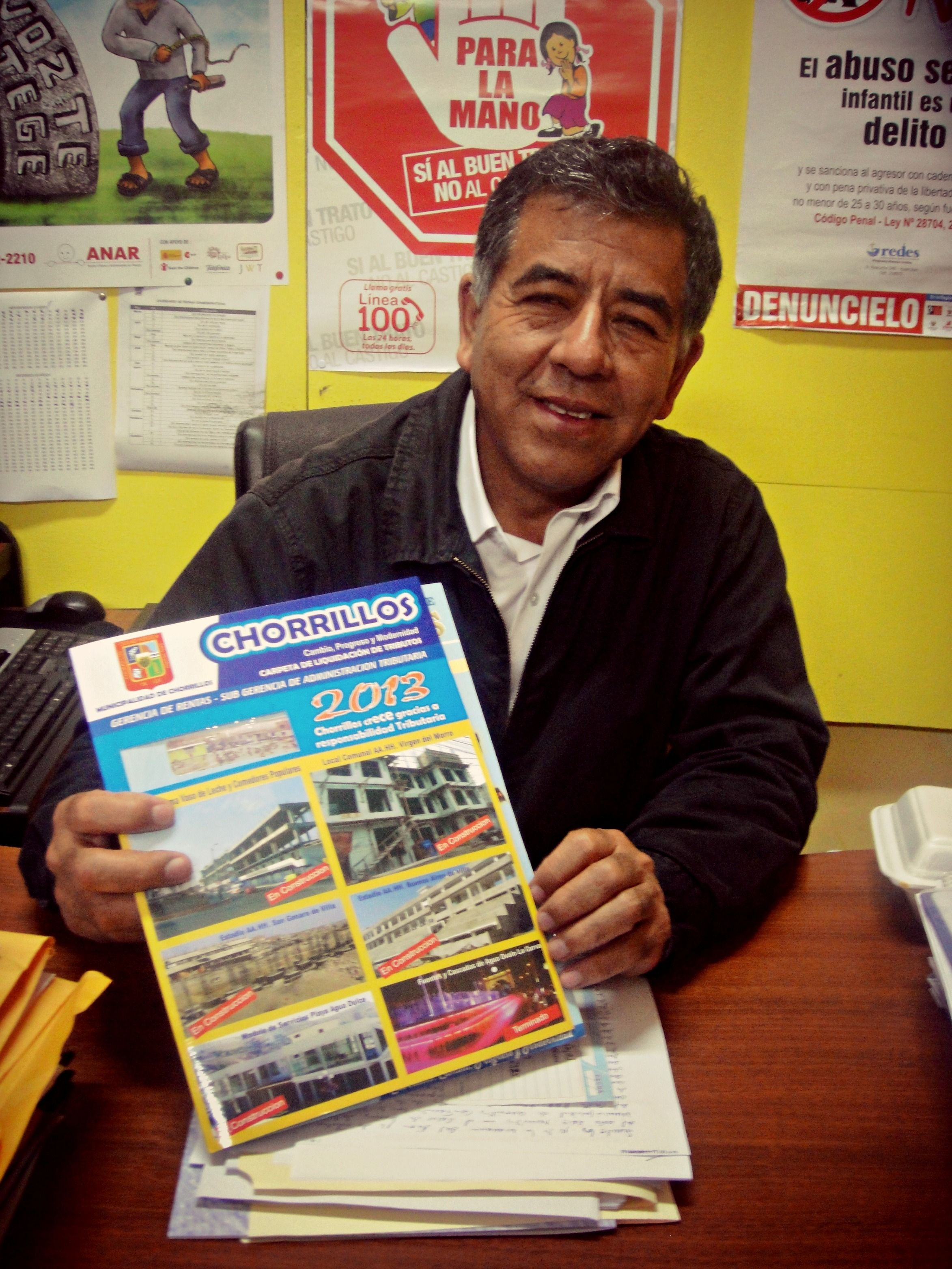 Entrevista al Sr. Chuqui Solsol , representante de Imagen Institucional de la Municipalidad de Chorrillos.