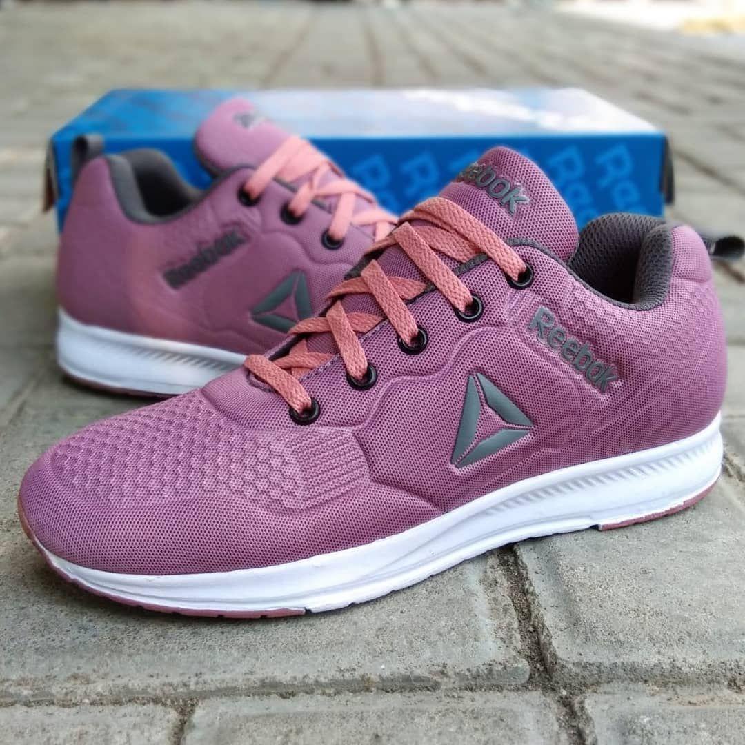 Reebok Pink Good Quality Ukuran Cewek Size 36 40
