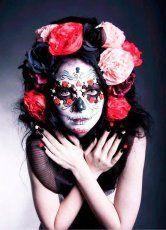 #Makeup #Catrines #Calaveras #Frida #Maquillaje #Ideas #DiadeMuertos  #Catrina #Catrin