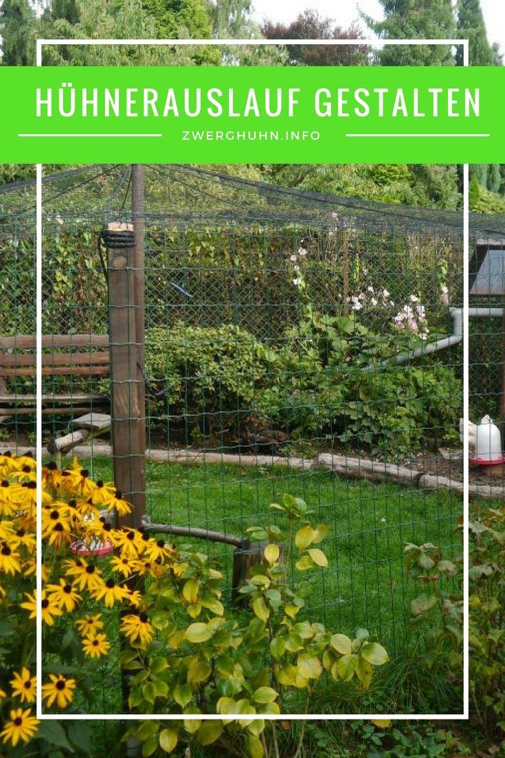 Auslauf Gehege Fur Huhner Richtig Gestalten Infos Zu Grosse Umzaunung Bepflanzung Bodenflache Uberdachung Ubernetzu Huhnergehege Huhner Zaun Huhnergarten