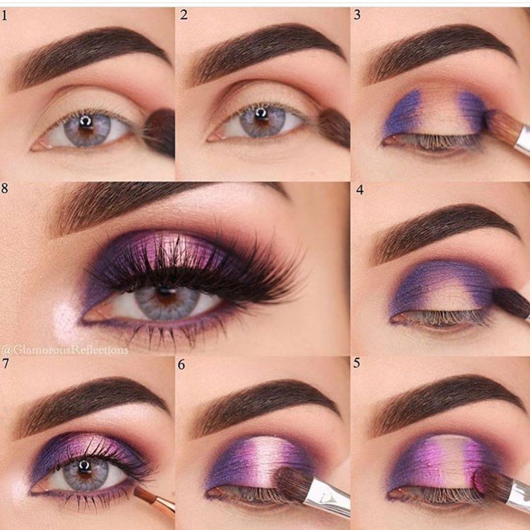Step by step glamorousreflections using deckofscarlet