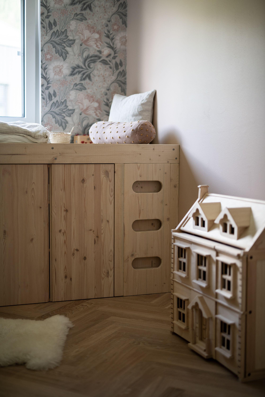 DIY Ein Bett aus IvarSchränken Kinder zimmer