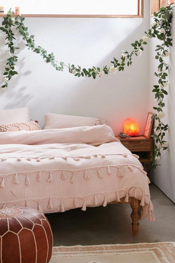 Decorative Rose Vine Garland   Home decor bedroom, Home ...