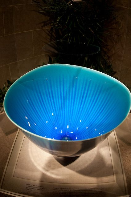 Miyanishi Atsushi born 1954 Deep bowl 1991 Contemporary Japanese Porcelain at the Sackler Gallery by Jeff Mather, via Flickr