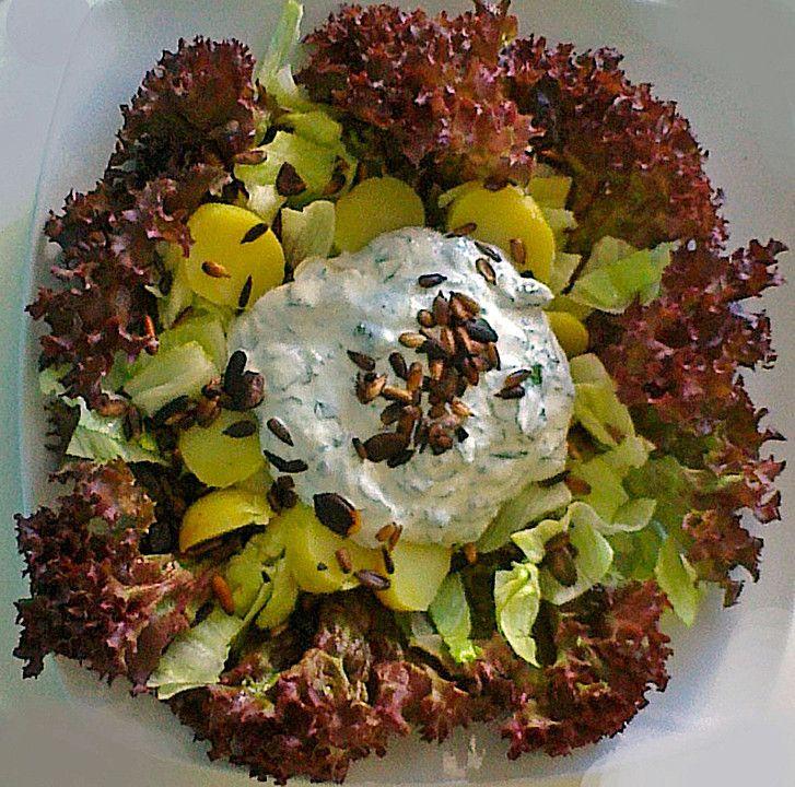 Kartoffelsalat mit Basilikum-Creme (Rezept mit Bild)   Chefkoch.de