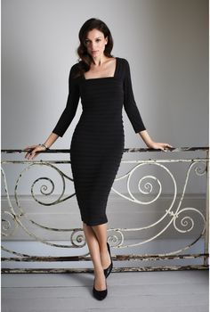 Square Neck Shutter Dress: Tall Women Clothes at Long Tall Sally ...
