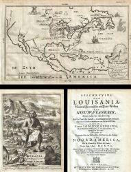 Kaart van Nieuw Vrankryk, en van Louisania Nieuwelyks Ontdekt : Geographicus Rare Antique Maps