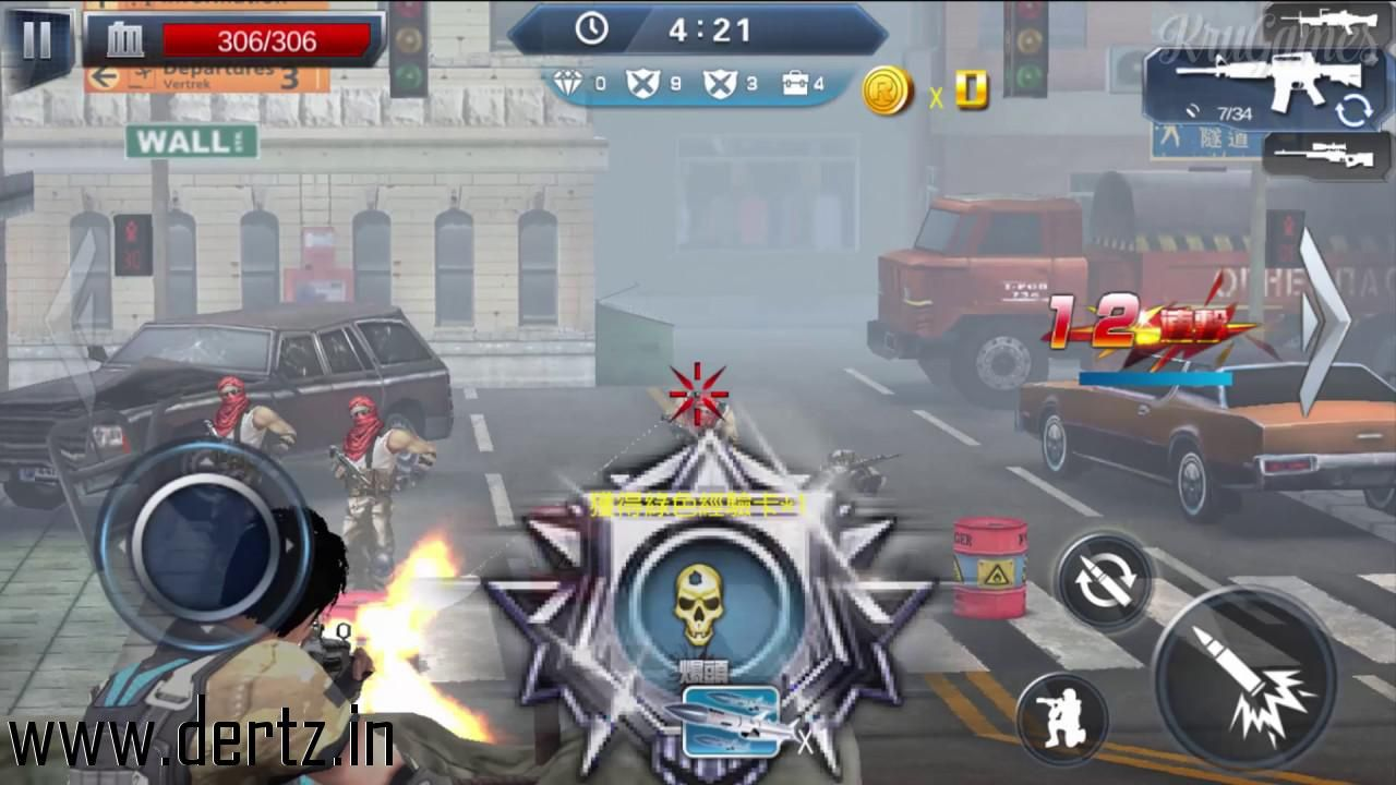 Free apk file of fire conflict zombie frontier for android