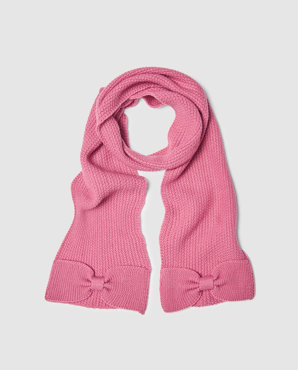 Bufanda de niña Freestyle en rosa con lazo  403c0579630