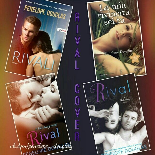 Rival by Penelope Douglas covers