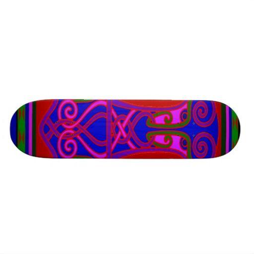 Skateboard design inspired by Thor's Hammer - Witches Hammer shop on Zazzle:  www.Zazzle.com/WitchesHammer