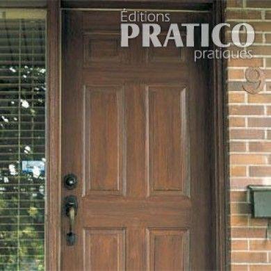 Comment faire une imitation de bois sur une porte extérieure
