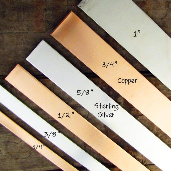 4 Cuff Bracelet Blank Copper 3 8 X 6 16 Gauge Metal Blanks Stamping Supplies On Etsy 72
