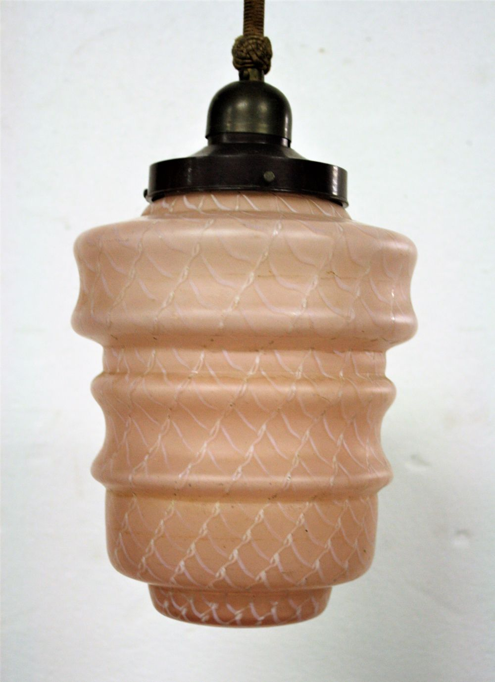 vintage lighting pendants. Pink Art Deco Pendant Light, 1930\u0027s Vintage Lighting Pendants I