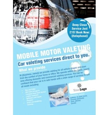 Car Wash A6 Leaflets #design #print #valeting #carwash Design - car flyer template